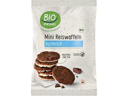 BIO PRIMO Bio Mini Reiswaffeln Vollmilch