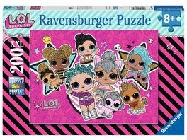 Ravensburger Puzzle L O L Surprise Girlpower 200 XXL Teile