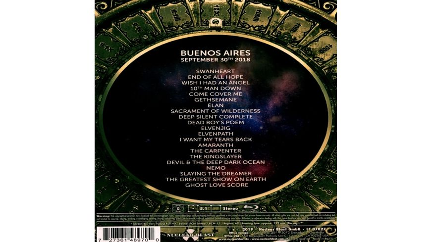 Decades Live in Buenos Aires