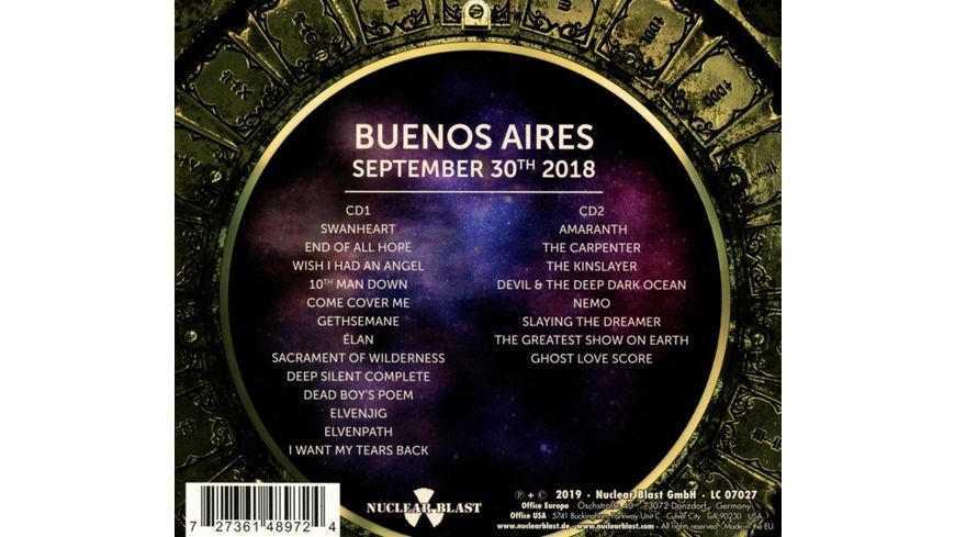 Decades Live in Buenos Aires 09 30 2018