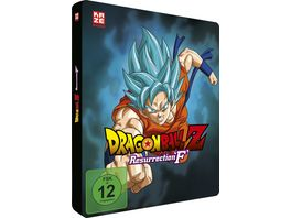 Dragonball Z Resurrection F Steelbook Limited Edition DVD und Blu ray