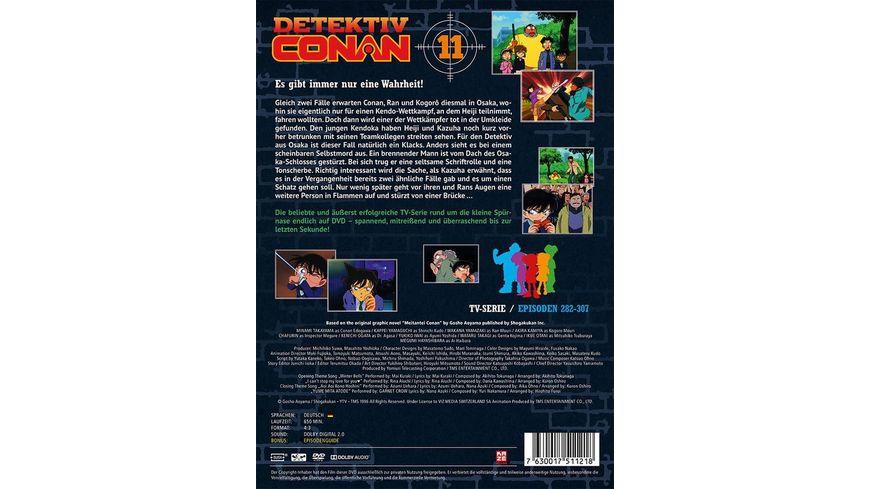 Detektiv Conan TV Serie DVD Box 11 Episoden 281 307 5 DVDs