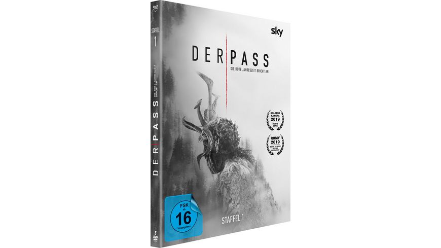 Der Pass Die komplette 1 Staffel Episode 1 8 3 DVDs