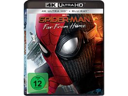Spider Man Far from Home 4K Ultra HD Blu ray 2D