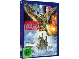 Wizards of the Lost Kingdom Uncut Limited Mediabook Edition Blu ray DVD plus Booklet digital remastered