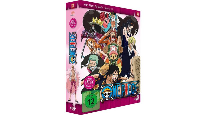 One Piece TV Serie Box 22 Episoden 657 687 5 DVDs