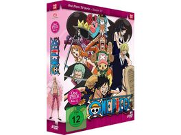 One Piece TV Serie Box 22 Episoden 657 687 5 DVDs