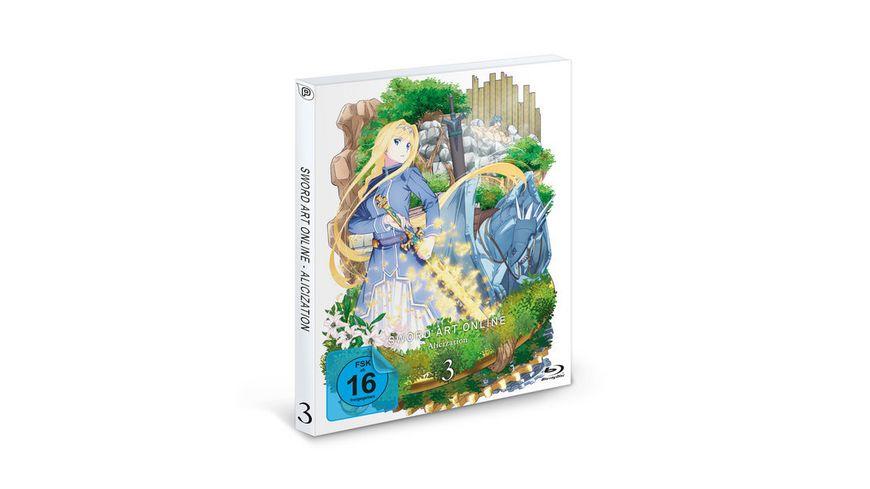 Sword Art Online Alicization 3 Staffel DVD 3 Episode 13 18 2 DVDs