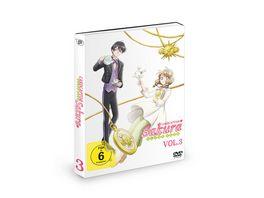 Cardcaptor Sakura Clear Card Vol 3 Episode 12 17 2 DVDs
