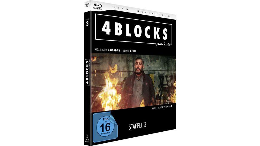 4 Blocks Die komplette dritte Staffel 2 BRs