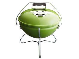 Weber Holzkohle Kugelgrill Smokey Joe Premium 37 cm Spring Green