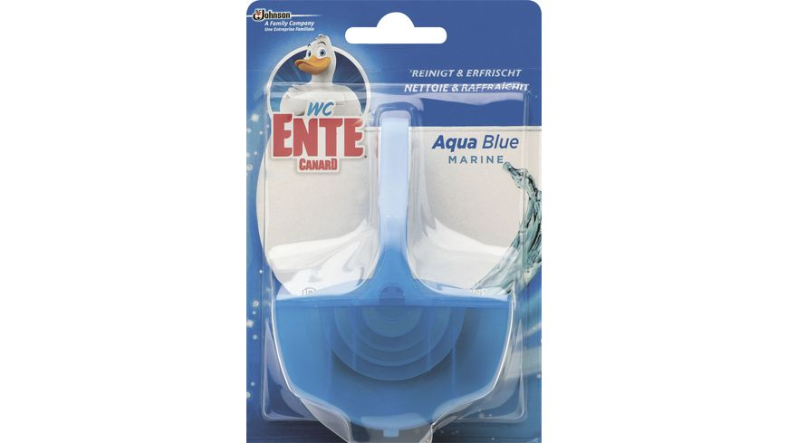 WC-Ente Aqua Blue Einhänger
