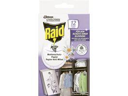 Raid Mottenschutz Papier
