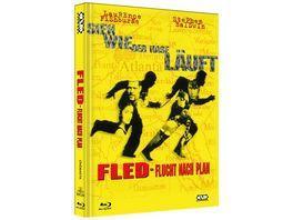 Fled Flucht nach Plan Mediabook Limitierte Collecter s Edition auf 444 Stueck DVD Cover A