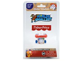 World s Smallests Fisher Price Plapper Telefon
