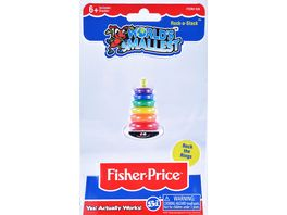 World s Smallests Fisher Price Farbringpyramide