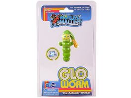 World s Smallests Glo Worm