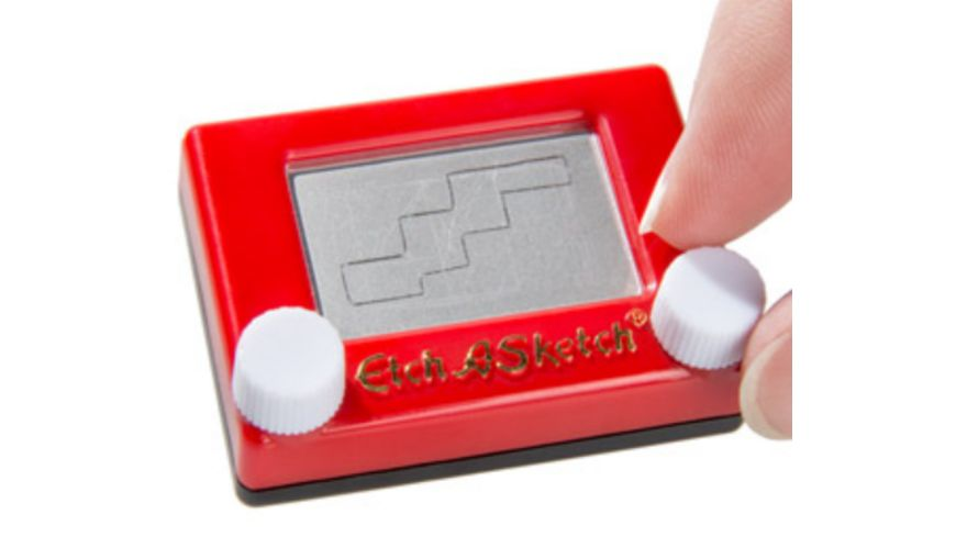 World s Smallests Etch a Sketch