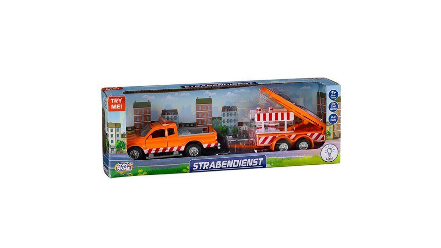 Müller - Toy Place - Auto Straßendienst 1 Stück