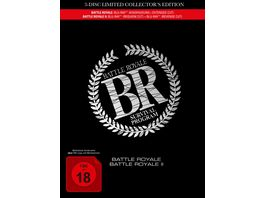 Battle Royale 1 2 3 Disc Movie Edition im Mediabook 3 BRs