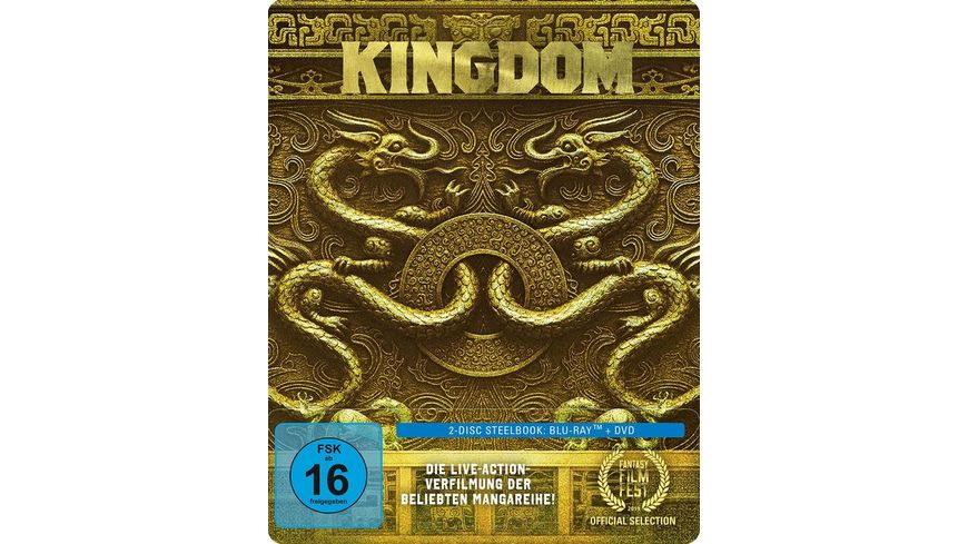Kingdom Limitiertes SteelBook DVD