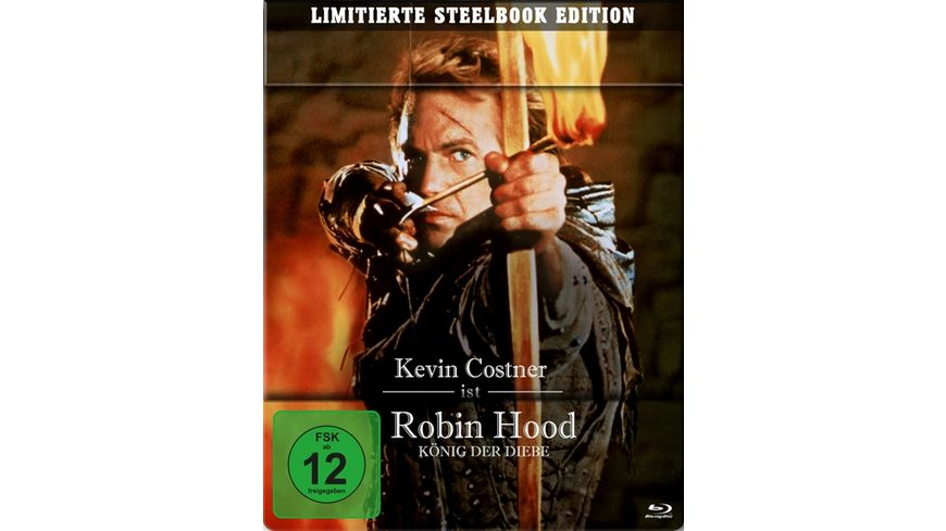 Robin Hood - König der Diebe (Steelbook)  [2 BRs]