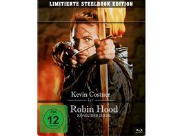 Robin Hood Koenig der Diebe Steelbook 2 BRs