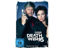 Death Wish 5 The Face of Death LCE DVD Mediabook