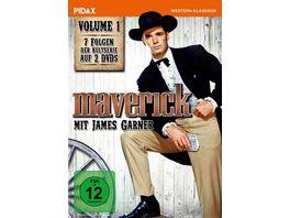 Maverick Vol 1 Sieben Folgen der legendaeren Westernserie mit James Garner Pidax Western Klassiker 2 DVDs
