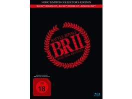 Battle Royale 2 3 Disc Limited Collector s Edition Mediabook inkl Requiem Cut Revenge Cut und Bonus BD