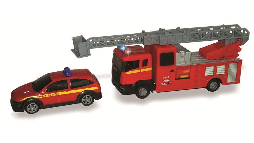 Mueller Toy Place Auto Feuerwehr Team 1 Set sortiert