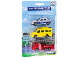 Mueller Toy Place Auto Einsatzfahrzeug