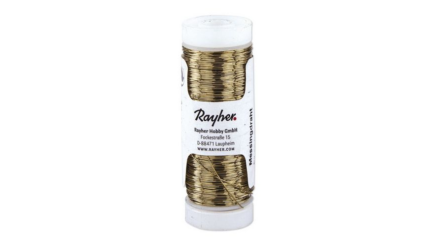 Rayher MESSINGDRAHT 0 4MMX40M 2413200