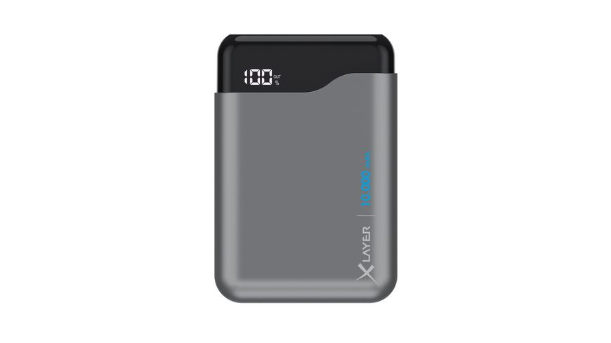 Xlayer Zusatzakku Powerbank Micro PRO Space Grey 10 000mAh