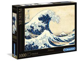 Clementoni Galileo Puzzle Hokusai La Grande Onda 1000 Teile Museum Collection