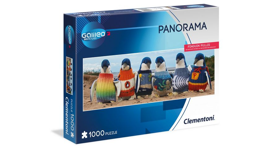 Clementoni Galileo Puzzle Pinguins Pullis 1000 Teile High Quality Collection