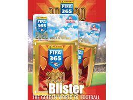Panini FIFA 365 2020 Stickerkollektion Blister 45 Sticker