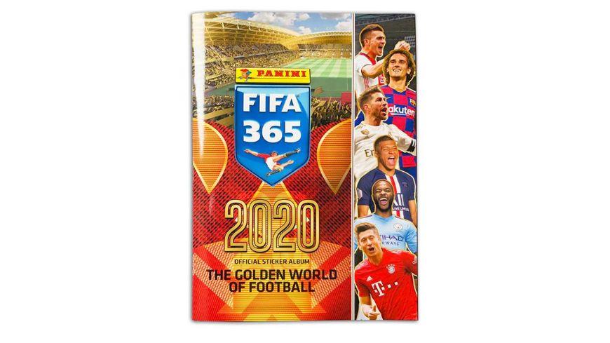 Panini - FIFA 365 2020 Stickerkollektion - Sammelalbum
