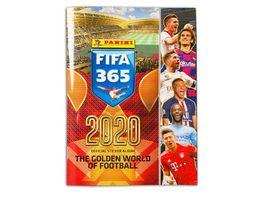 Panini FIFA 365 2020 Stickerkollektion Sammelalbum