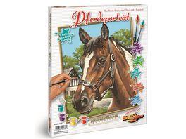 Schipper Malen nach Zahlen Motiv Gruppe Klassiker Tiere Pferdeportrait
