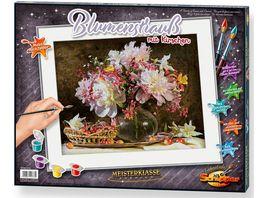 Schipper Malen nach Zahlen Motiv Gruppe Premium Blumenstrauss mit Kirschen