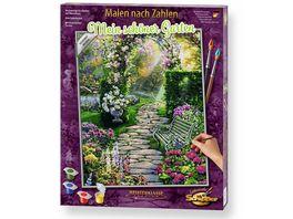 Schipper Malen nach Zahlen Motiv Gruppe Premium Mein schoener Garten