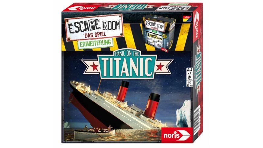 Noris Spiele Escape Room Panic on the Titanic