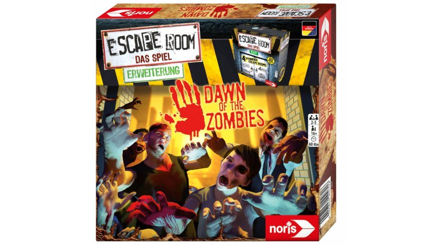 Noris Spiele Escape Room Dawn of the Zombies