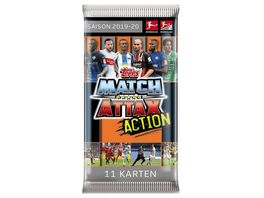 Topps Match Attax ACTION 2019 2020 Booster