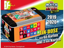 Topps Match Attax ACTION 2019 2020 Tin Dose gross