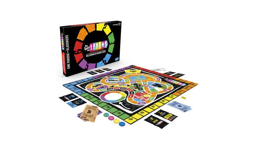 Hasbro Gaming Spiel des Lebens Schuldenberg