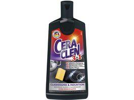 Ceraclen 3in1 Glaskeramik Reiniger