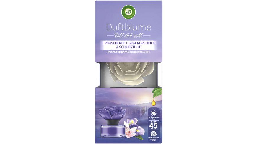 Air Wick Duftblume Erfrischende Wasserorchidee & Schwertlilie