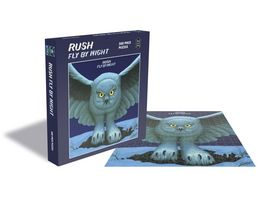Fly By Night 500 Piece Puzzle